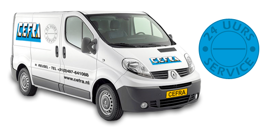 Cefra Bedrijfskeukens servicebus Reusel